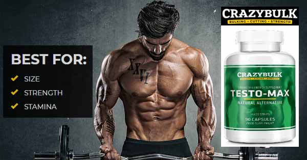Crazy Bulk Testo Max Benefits