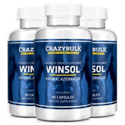 Crazy Bulk Winsol Review- A Legal Steroid That Claims Safe Fat Loss