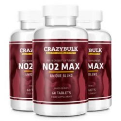 Crazy Bulk NO2 Max: An All-Natural Nitric Oxide Booster With Zero Side Effects