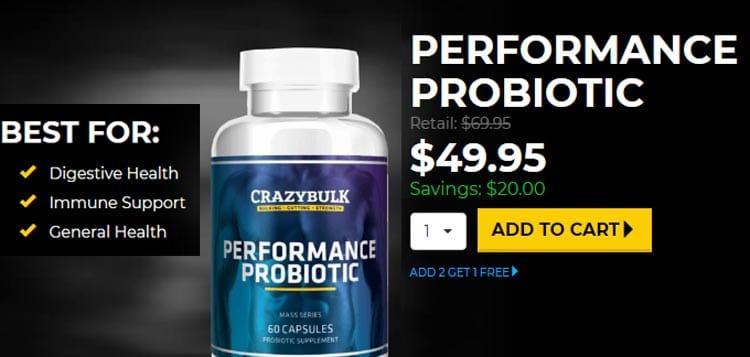 Buy Performance Probiotic