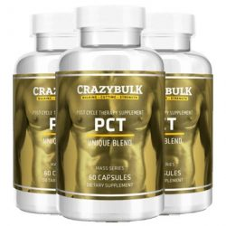 Crazy Bulk PCT: All-Natural Post Cycle Therapy Supplement