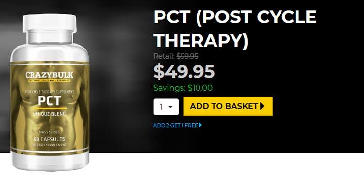 Buy Crazy Bulk PCT