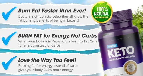 PureFit Keto Benefits