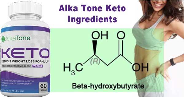 Alka Tone Keto Ingredients