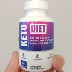 Keto Diet Pills - Gluten Free, Vegan, Non GMO Weight Loss Supplement