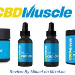 CBD Muscle - Oil, Balm & BCAA Supplement For Pain Relief & Enhanced Recovery
