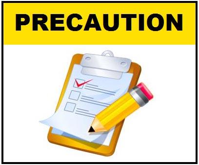 Venabol Precautions