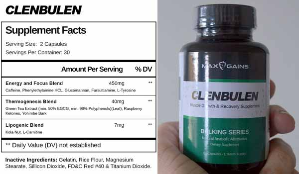 Clenbulen Ingredients