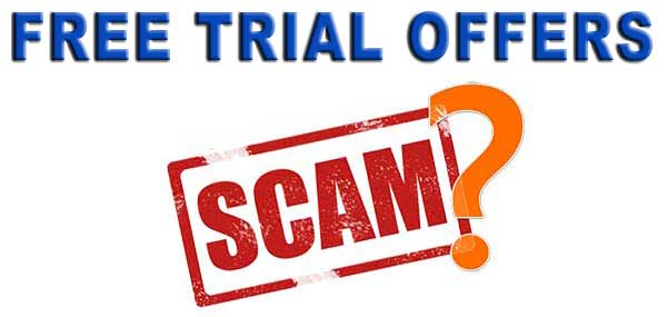 Free Trial Scams