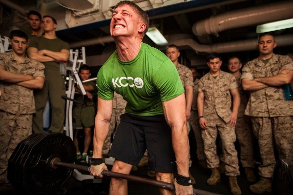 Bodybuilder Vs The Marine Corps Fitness Test