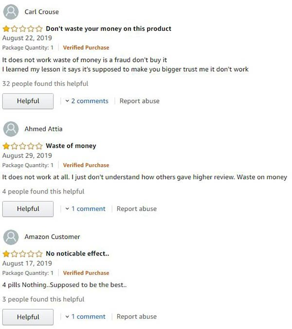 Male UltraCore Reviews