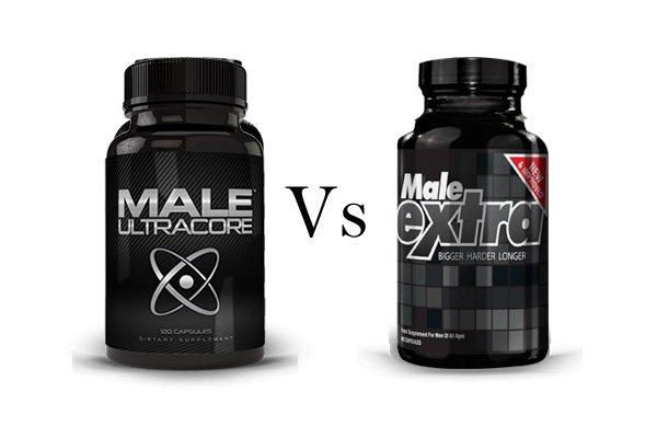 Male UltraCore Vs Male Extra